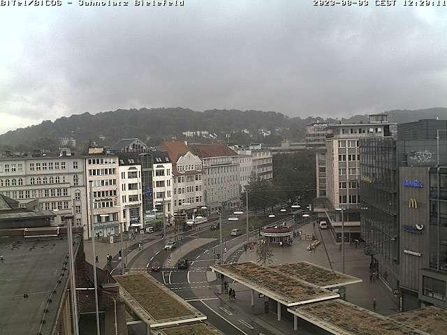 Bielefeld Webcam Jahnplatz West