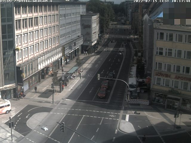 Bielefeld Webcam Jahnplatz Nord